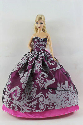 Fashion Princess Party Dress/Evening Clothes/Gown For 11.5in.Doll B05
