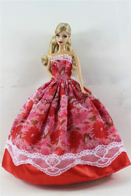 Fashion Princess Party Dress/Evening Clothes/Gown For 11.5in.Doll B07