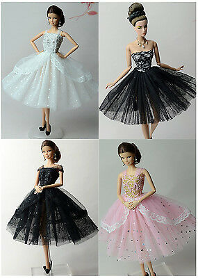 4 PCS Lovely Fashion Clothes/Ballet dress For 11.5in.Doll