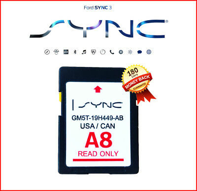LATEST A8 2018 Navigation SD CARD SYNC FITS ALL FORD LINCOLN UPDATES A7