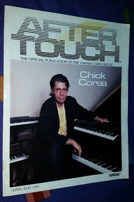 Yamaha 1989 Genuine Vintage AFTERTOUCH MAGAZINE NEWSLETTER CHICK COREA