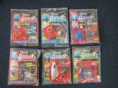 Eaglemoss Ultimate Real Robots  ( Unopened/Unused )  Choose which issue you need