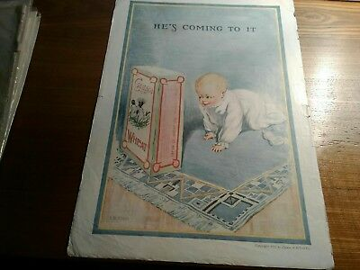 Cream of Wheat ads from 1911 to 1924