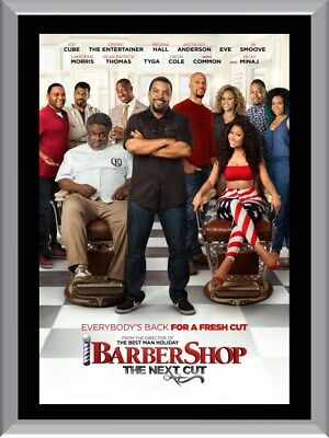 Barbershop The Next Cut A1 To A4 Size Poster Prints