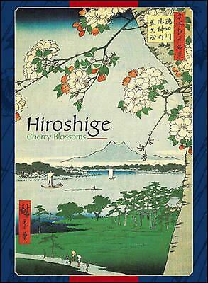 Cherry Blossoms Boxed Notecards by Hiroshige (English) Novelty Book Free Shippin