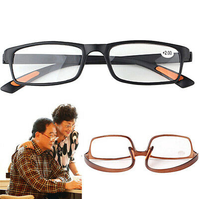 Unisex Resin Framed Reading Glasses+1.00 1.50 2.00 2.50 3.00 3.50 4.00 DiopterSC