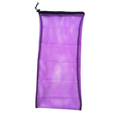 "Carrying Mesh Drawstring Gear Bag for Snorkeling Fins Flippers - 25"" by 13"""