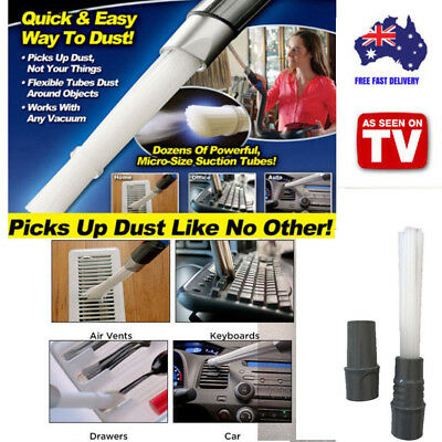 Dust Daddy Brush Cleaner Dirt Remover Universal Vacuum Attachment As Seen on TV