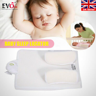 Anti-Rollover Baby Safe Cotton Anti Roll Support Pillow Sleep Head Positioner UK