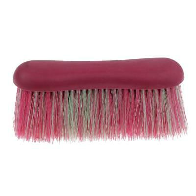Lightweight Horse Pony Massage Brush Mane and Tail Comb Grooming Tool Pink