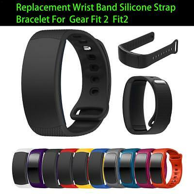 Silicone Replacement Watch Band Strap For Galaxy Gear Fit 2 Fit2 Pro SM-R360