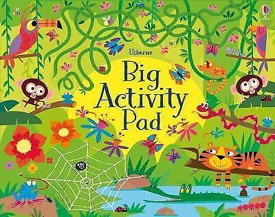 Big Activity Pad by Kirsteen Robson   Paperback Book   9781474906968   NEW