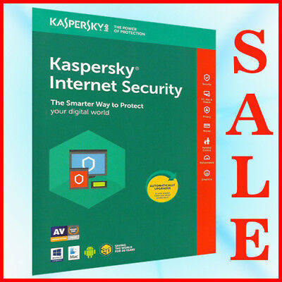 Kaspersky INTERNET Security Multidevice 2018  2017 1 PC 1 User 1 Year PC Mac