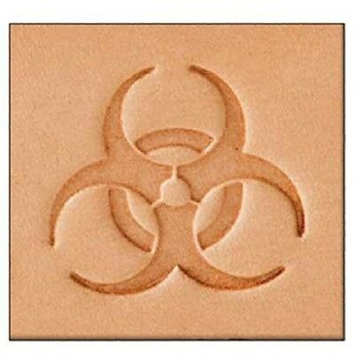 Tandy Leather 2d Stamping Tool Biohazard - Craf Stamp 859900