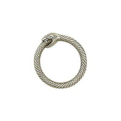 "Tandy Leather Infinity Snake Ring Nickel Free 1"" (25 Mm) 1162-02"
