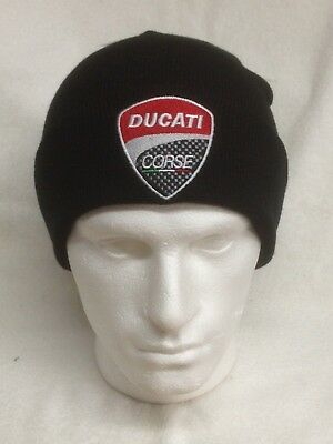 Ducati / Ducati Corse Motorcycles - Woolly Turn Up Hats / Beanies / Bobble Hats