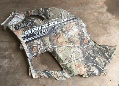 Yamaha Grizzly 550 700 Side Cover Tank Panel Shroud Engine Covers Left Side Camo