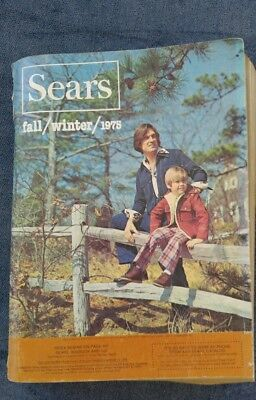 1975 Sears Roebuck Catalog   Fall and Winter Edition