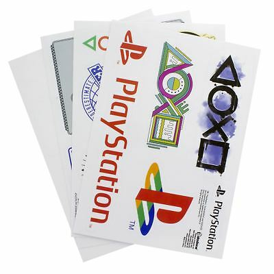 Official Playstation Gadget Decals Laptop Computer Phone Sticker Sheets