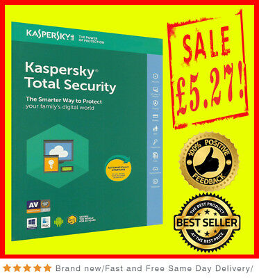 Kaspersky Total Security Multidevice 2018 1 PC 1User  1 Year PC Android Global