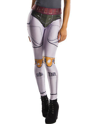 Star Wars Boba Fett Adult Womens Leggings Yoga Pants-One Size