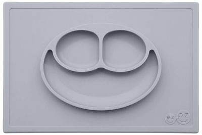 The Original ezpz Happy Mat (Limited edition Nordic collection) Pewter NEW!