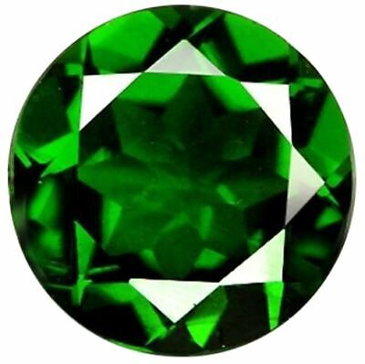 Natural Fine Rich Green Chrome Diopside - Round - Russia - AAA Grade