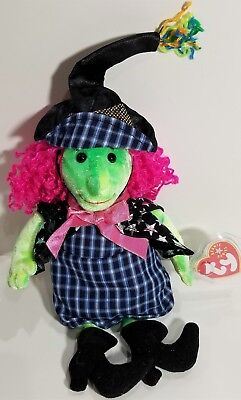 """TY Beanie Babies """"SCARY"""" the HALLOWEEN WITCH ~ MWMTs! RETIRED! PERFECT GIFT! NEW"""