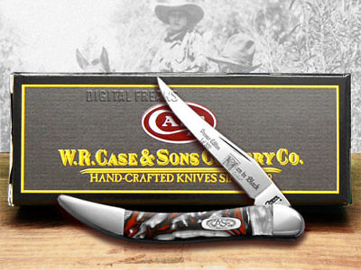CASE Man In Black Genuine Corelon 1/500 Toothpick Knife