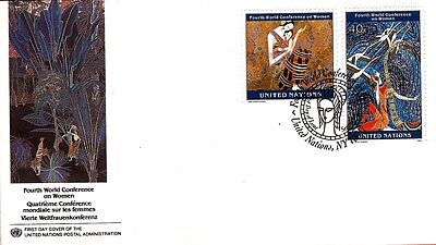FDC 11 UNITED NATIONS Envelope oblit.1er day Conference world on the women