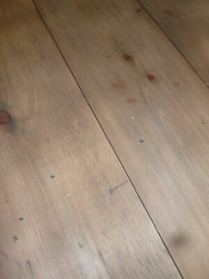 """Reclaimed (resawn) Yellow Pine 12"""" extra Wide Floorboards with aged face"""