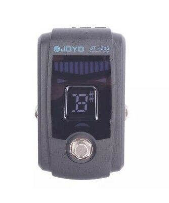 Joyo JT-305 Guitar & Bass Accessories Chromatic Pedal Tuner, True Bypass, Modes