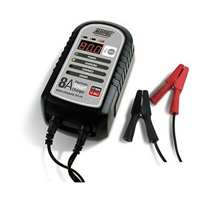 Maypole Mp7428 Electronic Battery Charger - Smart 8a 12v Caravan Leisure