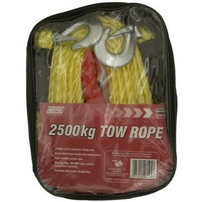 Tow Rope - 3.5m x 2500kg Dp - Maypole 4m 6095