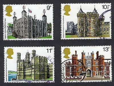 1978 British Architecture SG 1054 to 1057 set Very Good Used