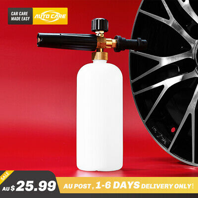 AU Snow Foam Lance Gun Soap Cannon Bottle 1L For Pressure Washer Karcher K2-K7