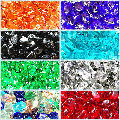 Coloured Stones For Gardens 100x floating decorative coloured pebbles stones rocks garden 500 glass pebbles nuggets colour stones vase fish garden path wedding 35kg workwithnaturefo