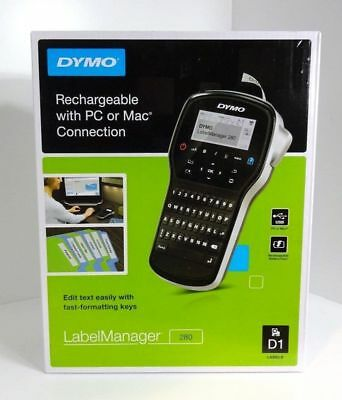 Dymo Label Manager 280 Rechargeable Handheld With Pc/mac (1815990) - Brand New