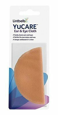 Linbells YUCARE EAR&EYE CLOTH Dog Cat Antibacterial Gentle Easy Soothes Cleans