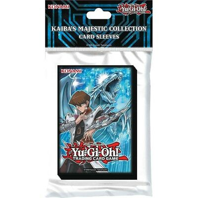 YU-GI-OH! JCC - Kaiba's Majestic Collection - X50 Sleeves / Protèges Cartes