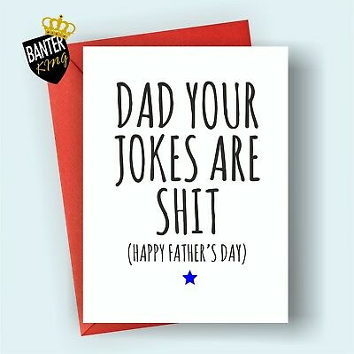 195 Olive You Dad Fathers Day Birthday Card Adult Rude Funny Joke