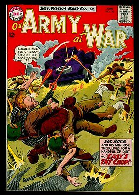DC Comics Our ARMY At WAR #143 Sgt. Rock FN- 5.5