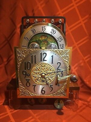 Herschede Grandfather Clock Movement