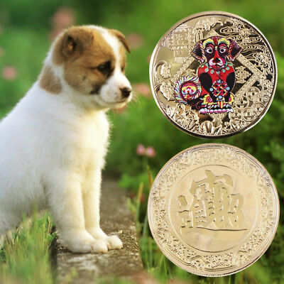 Gold Plated Souvenir Coin Round Shiny Commemorative Coins Virtual Currency