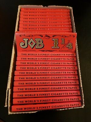 Job 1.25  Cigarette Rolling Papers - Lot Of 24 Packs