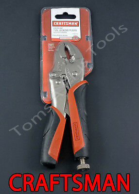 CRAFTSMAN HAND TOOLS 7 inch Curved Jaw Locking Pliers set Part# 45710