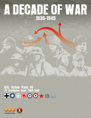 ASL Action Pack #6 A Decade of War MMP Advanced Squad Leader New In Shrink Wrap