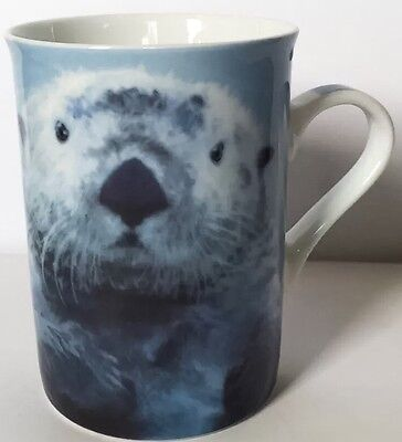 Sea Otter Coffee Mug Cup Wild Cafe Paul Cardew Animal Nature Designed In England