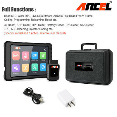 Car OBD2 Scanner WiFi ABS SRS EPB Injector Coding Air Suspension All system Scan