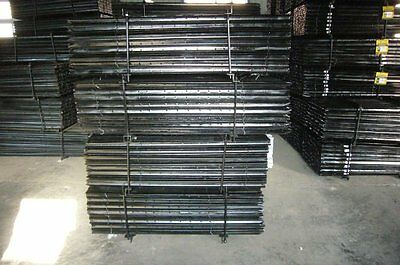 Black Coated Star Picket/Y Post 0.45m for just $2